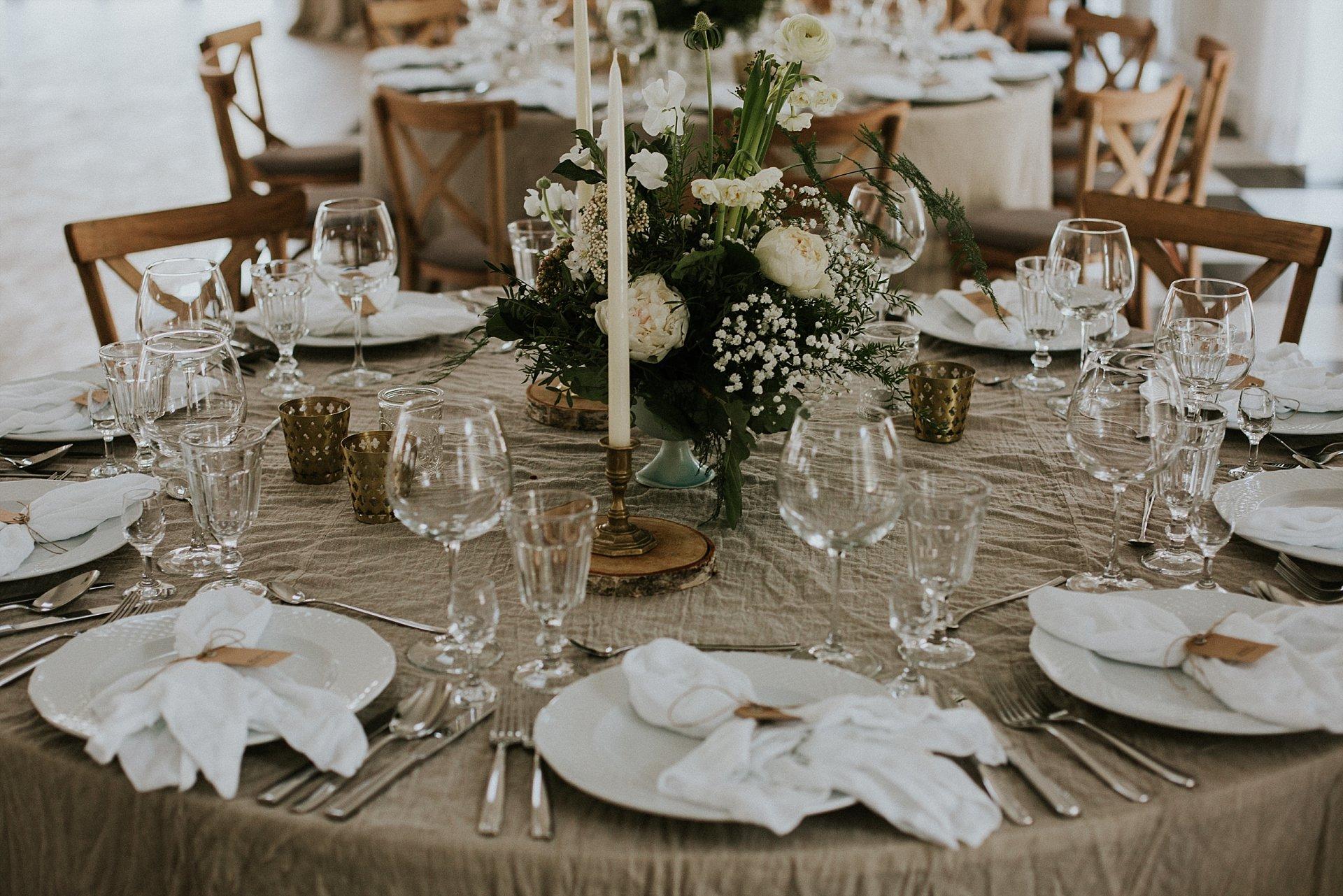 biała wstążka, dom restauracyjny, ślub naturalnie